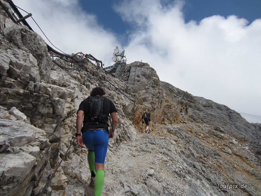 Zugspitzlauf Extremberglauf - Strecke 2011 - 286