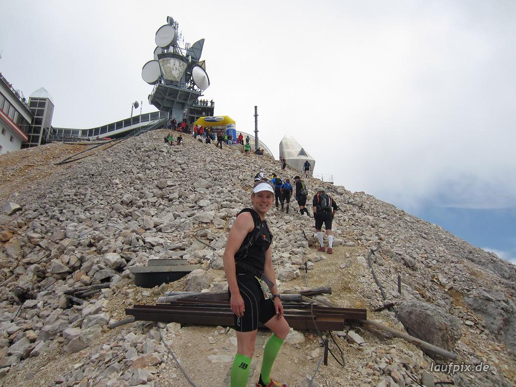 Zugspitzlauf Extremberglauf - Strecke 2011 - 289