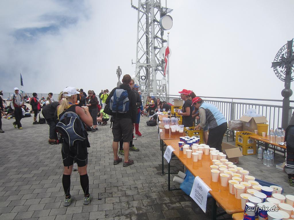 Zugspitzlauf Extremberglauf - Strecke 2011 - 295