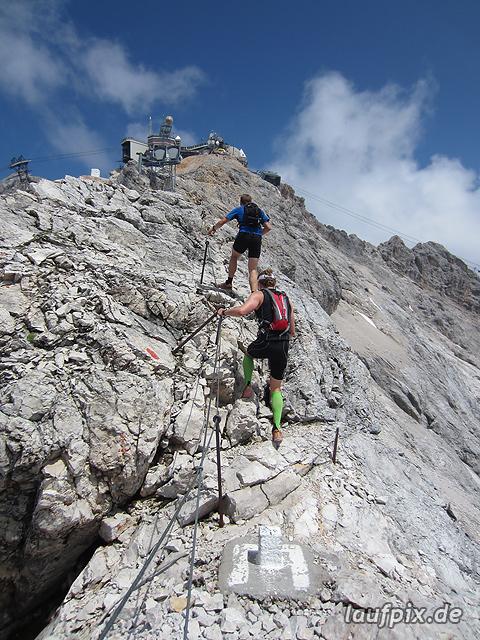 Zugspitzlauf Extremberglauf - Strecke 2011 - 278