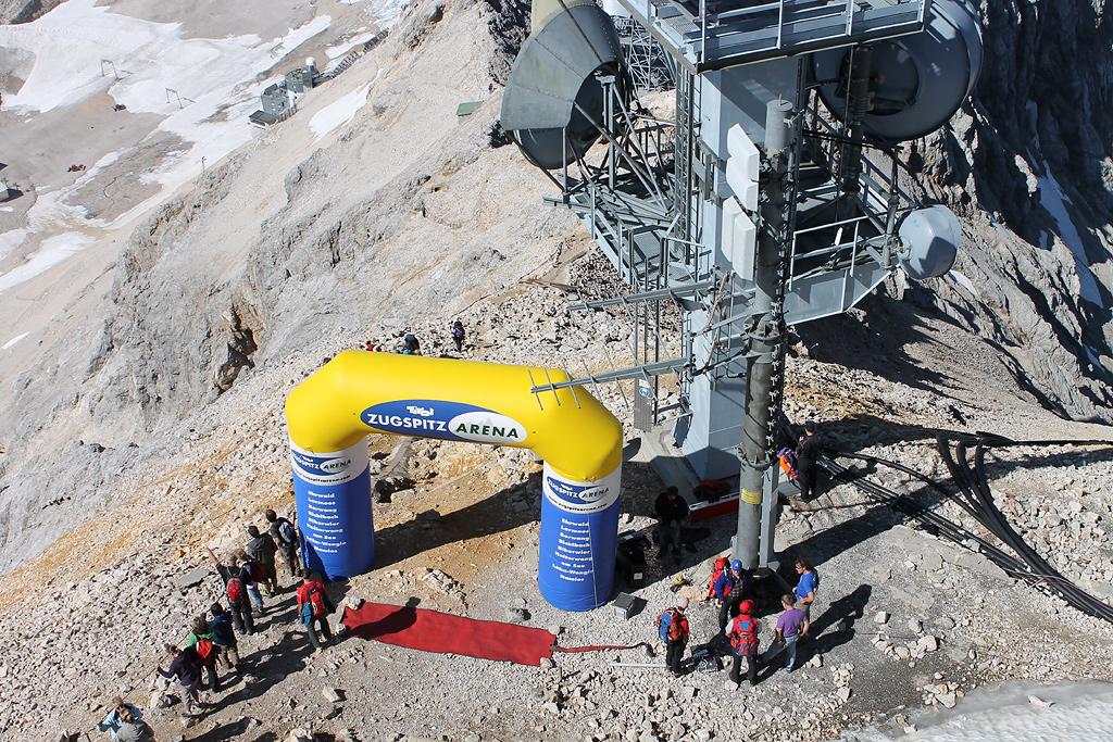 Zugspitzlauf Extremberglauf - Ziel 2011 - 1