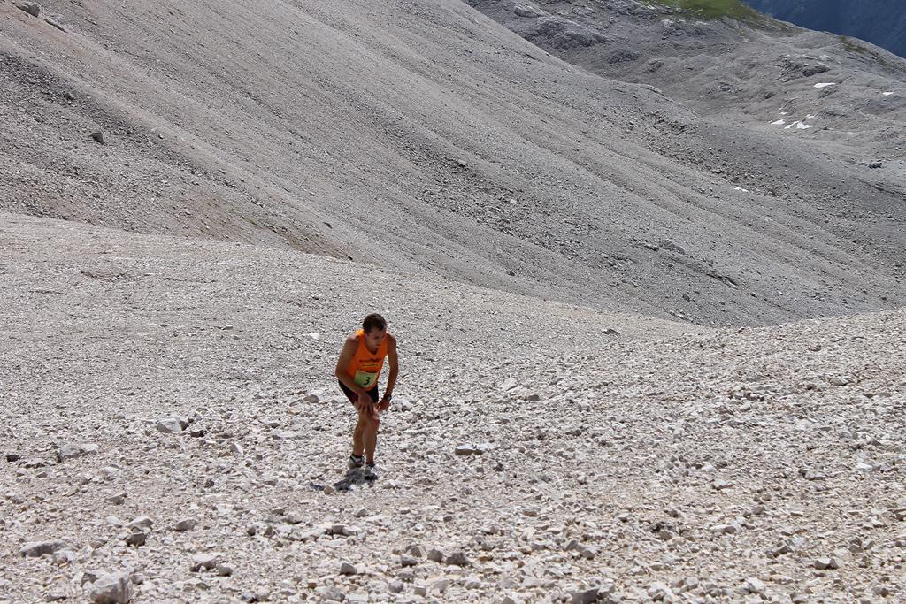 Zugspitzlauf Extremberglauf - Ziel 2011 - 12