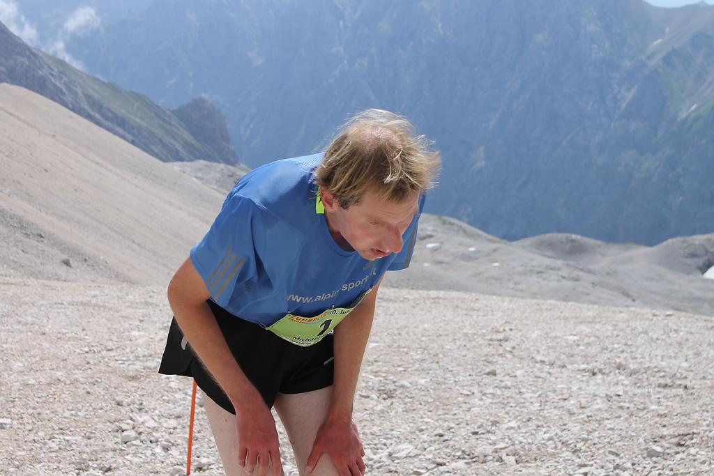 Zugspitzlauf Extremberglauf - Ziel 2011 - 36