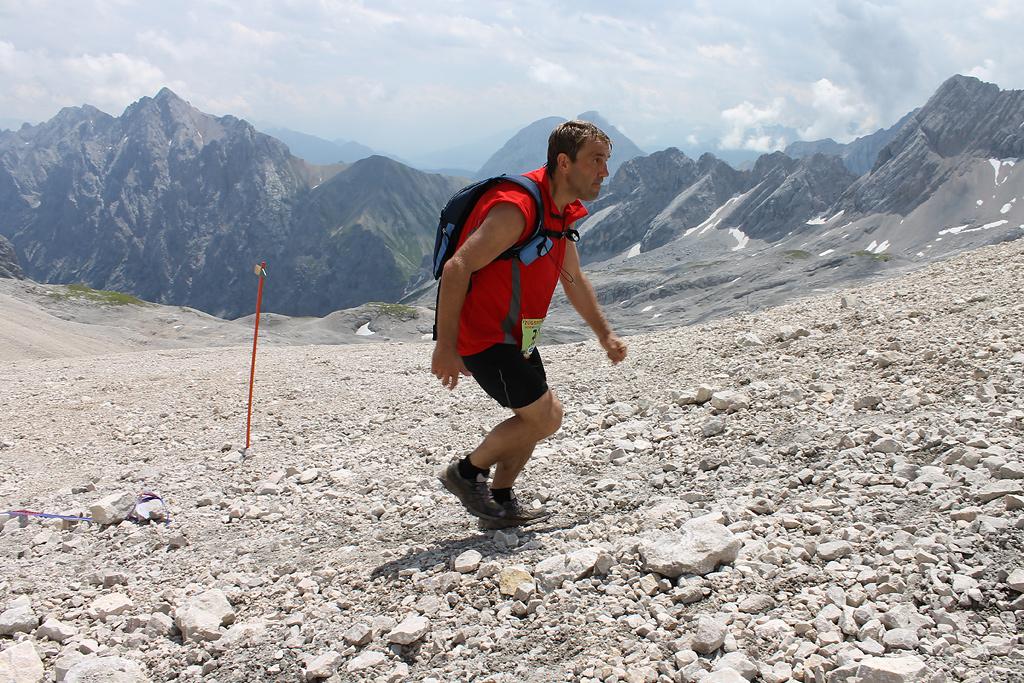 Zugspitzlauf Extremberglauf - Ziel 2011 - 1008