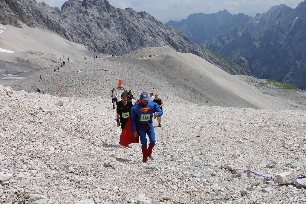 Zugspitzlauf Extremberglauf - Ziel 2011 - 1092