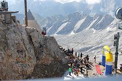 Zugspitzlauf Extremberglauf - Ziel 2011 - 6