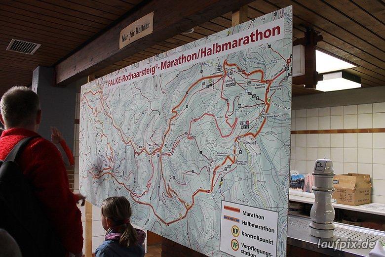 Rothaarsteig-Marathon 2011