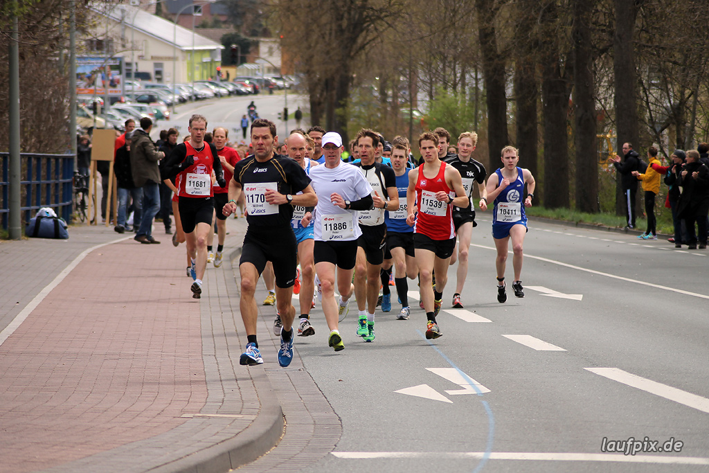 Paderborner Osterlauf 10km - km1 2012 Foto (23)