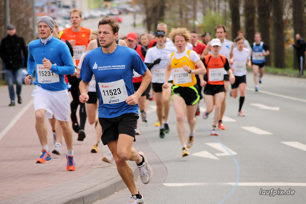 Paderborner Osterlauf 10km - km1 2012 - 45