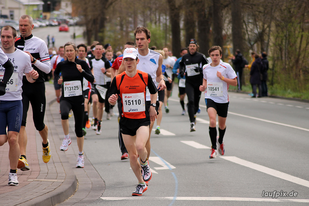 Paderborner Osterlauf 10km - km1 2012 - 49