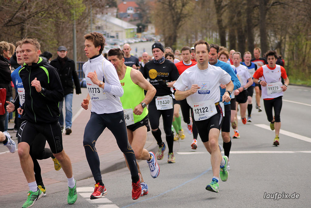 Paderborner Osterlauf 10km - km1 2012 Foto (61)