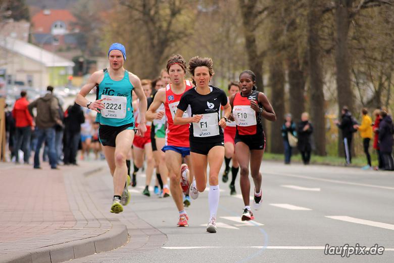 Paderborner Osterlauf 10km - km1 2012 - 13