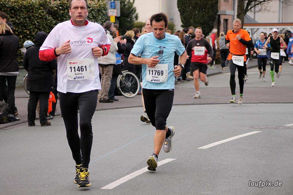 Paderborner Osterlauf 10km - Ziel 2012 - 2