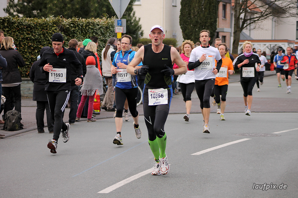 Paderborner Osterlauf 10km - Ziel 2012 Foto (6)