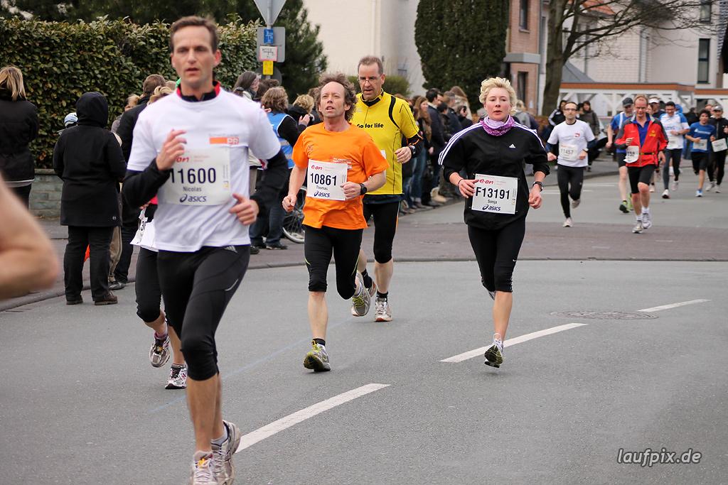 Paderborner Osterlauf 10km - Ziel 2012 Foto (8)