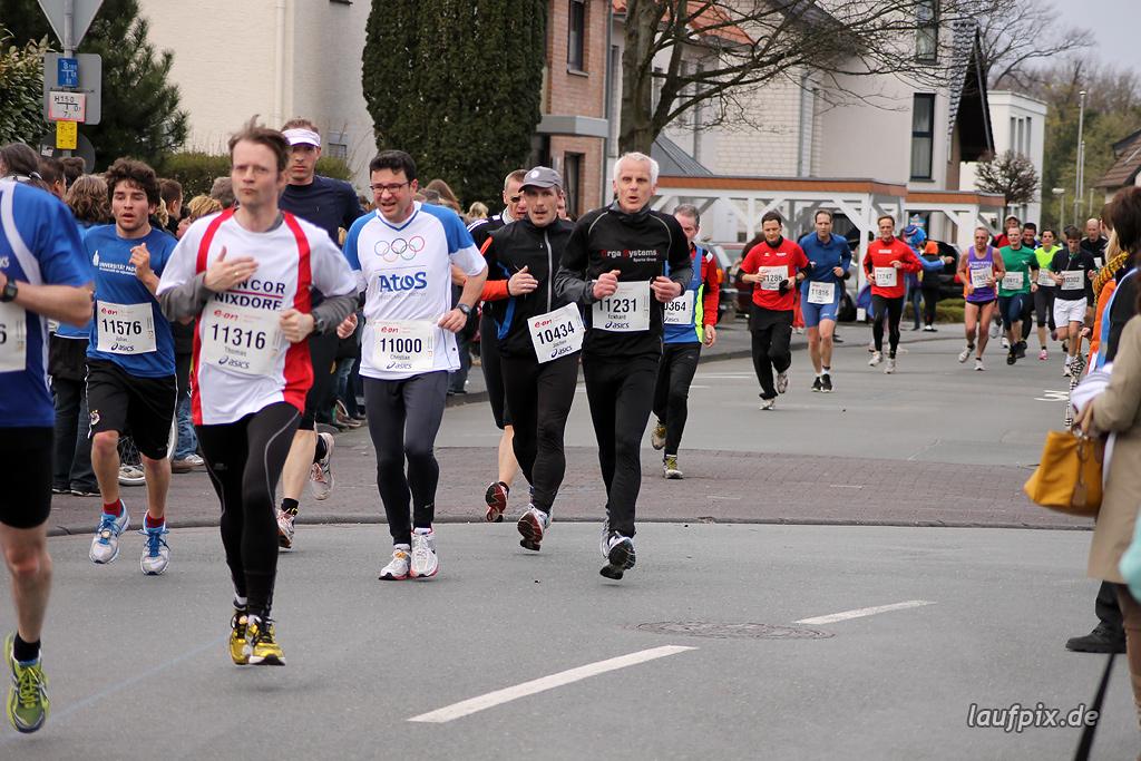 Paderborner Osterlauf 10km - Ziel 2012 - 12