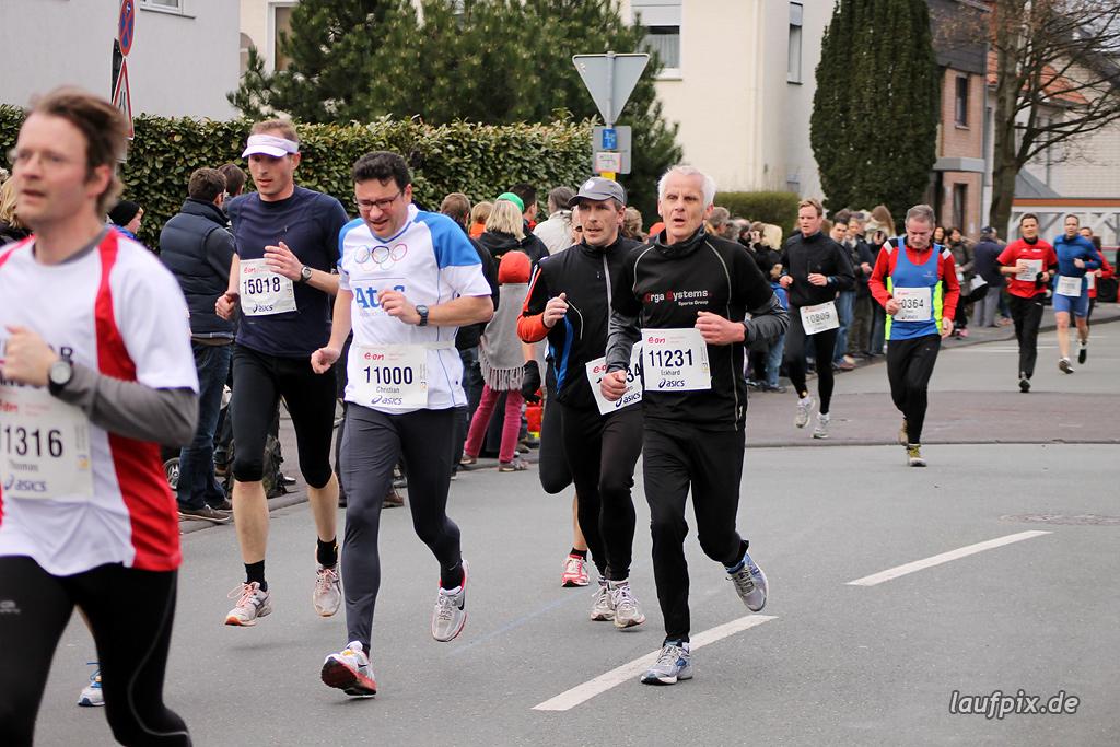 Paderborner Osterlauf 10km - Ziel 2012 - 14