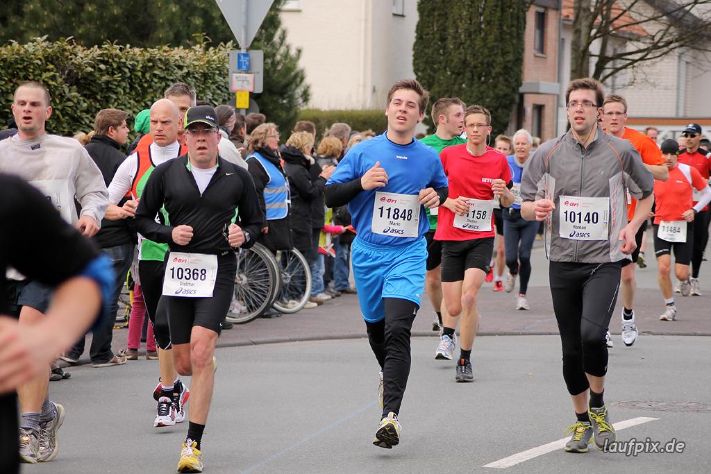 Paderborner Osterlauf 10km - Ziel 2012 - 21