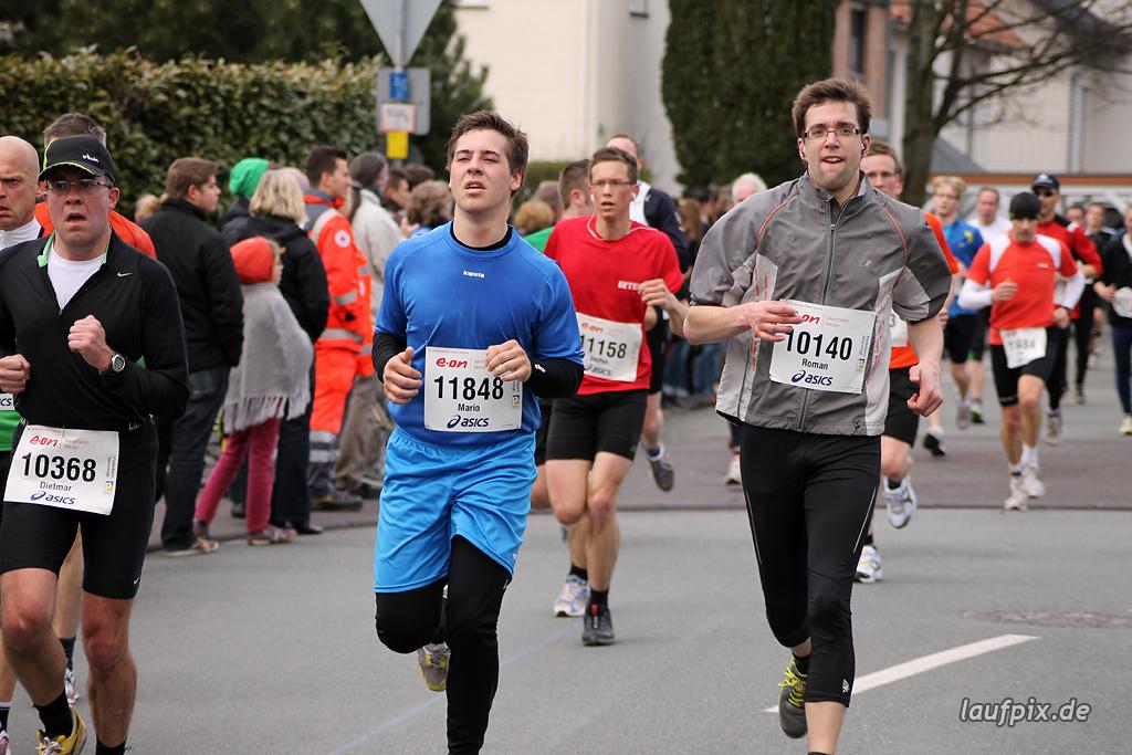 Paderborner Osterlauf 10km - Ziel 2012 - 22