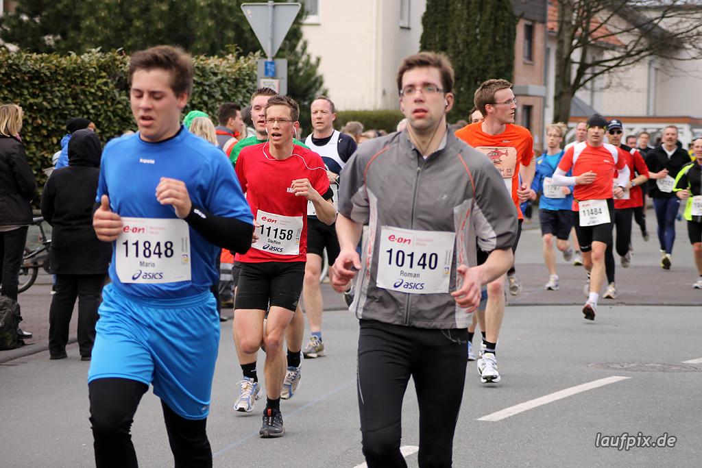 Paderborner Osterlauf 10km - Ziel 2012 - 23