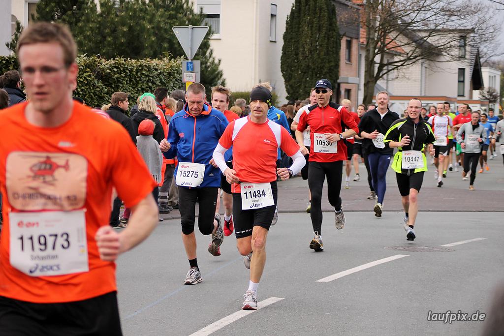 Paderborner Osterlauf 10km - Ziel 2012 - 26