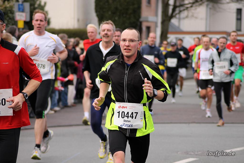 Paderborner Osterlauf 10km - Ziel 2012 - 28