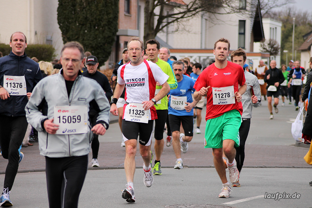 Paderborner Osterlauf 10km - Ziel 2012 - 30