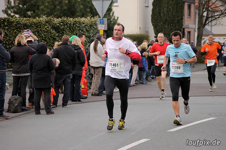 Paderborner Osterlauf 10km - Ziel 2012 - 1