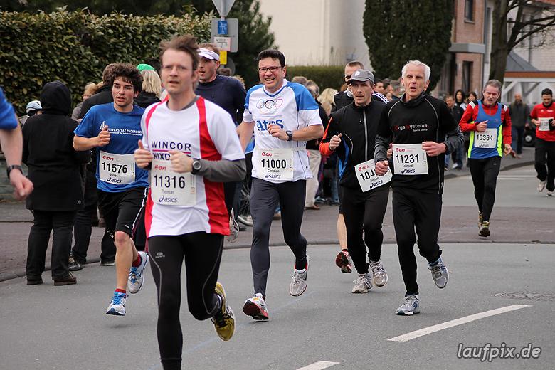 Paderborner Osterlauf 10km - Ziel 2012 - 13