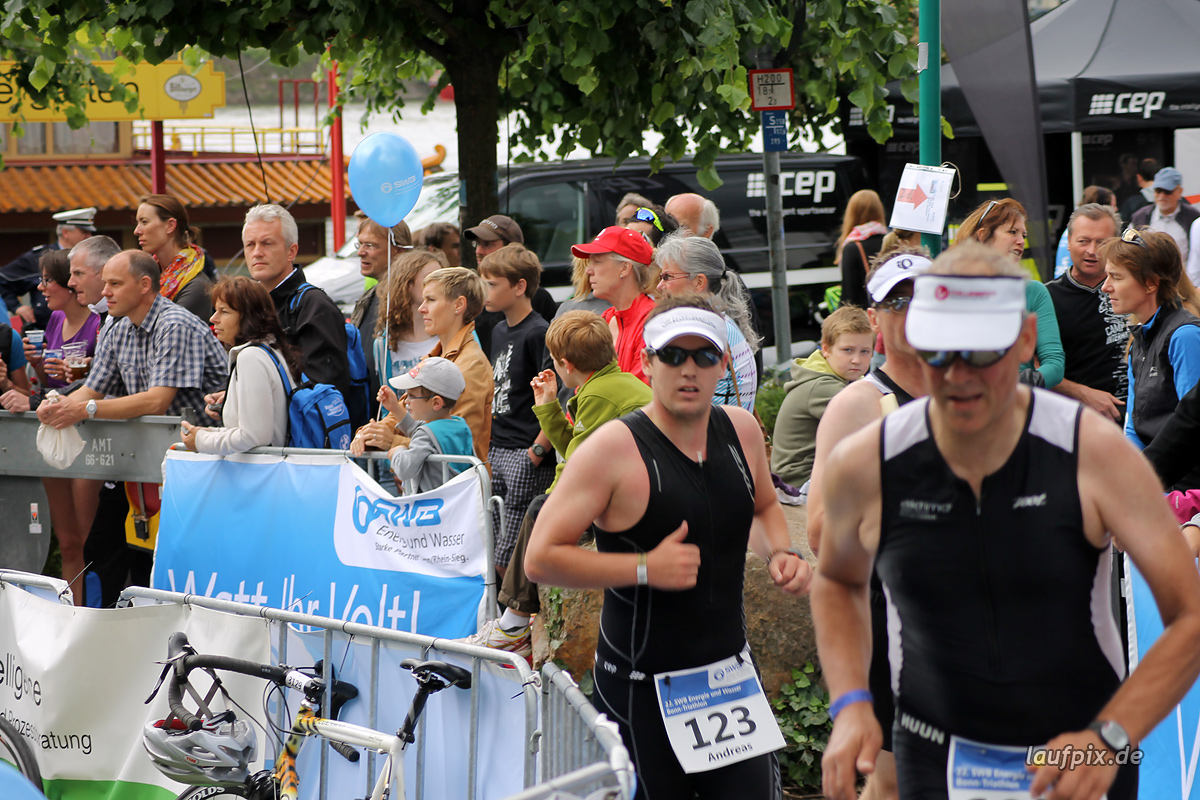 Bonn Triathlon - Run 2012 Foto (33)