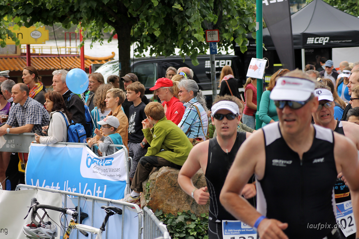 Bonn Triathlon - Run 2012 Foto (34)