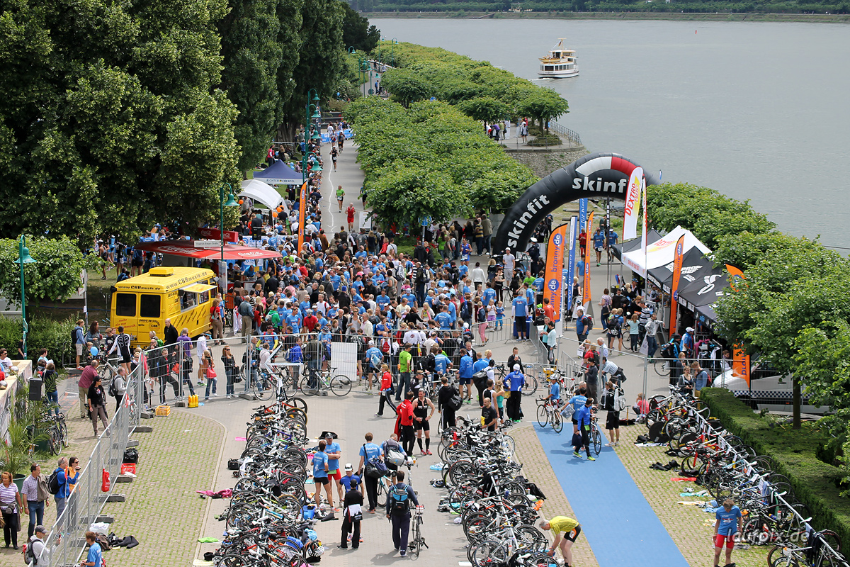 Bonn Triathlon - Run 2012 - 38