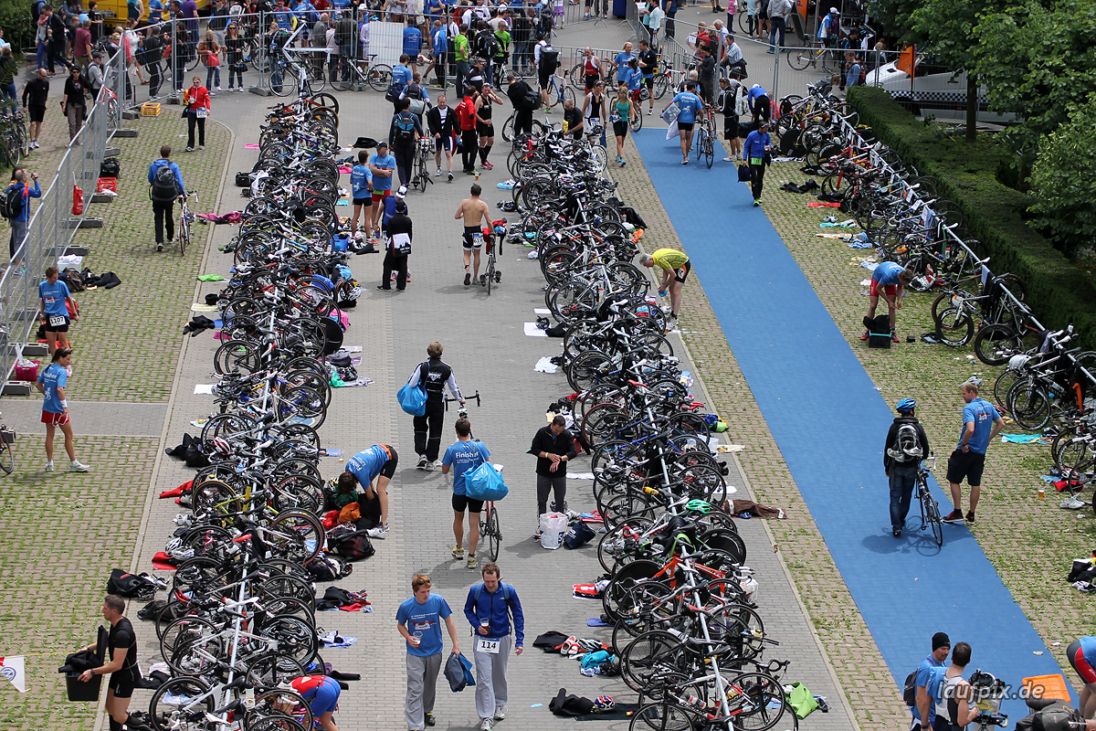 Bonn Triathlon - Run 2012 - 40