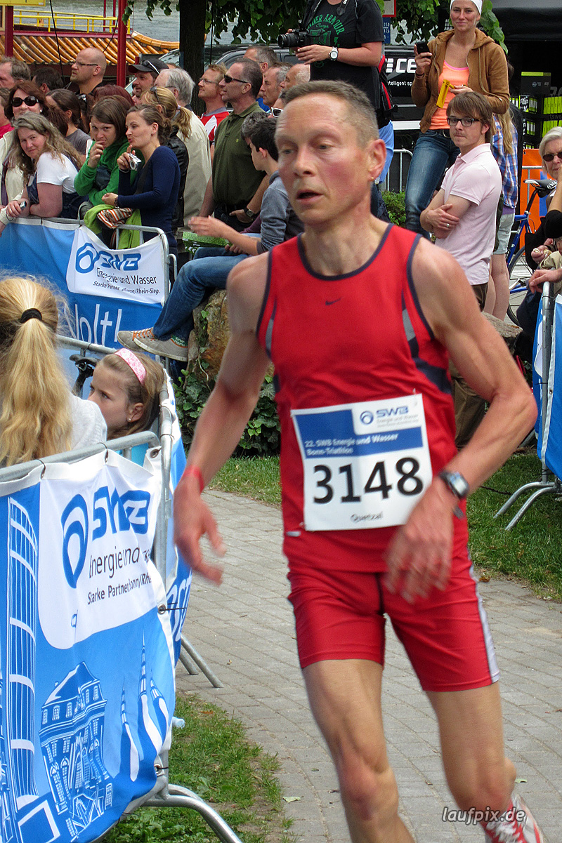 Bonn Triathlon - Run 2012 - 34