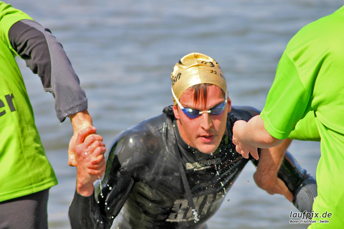 Bonn Triathlon - Swim 2012 - 72