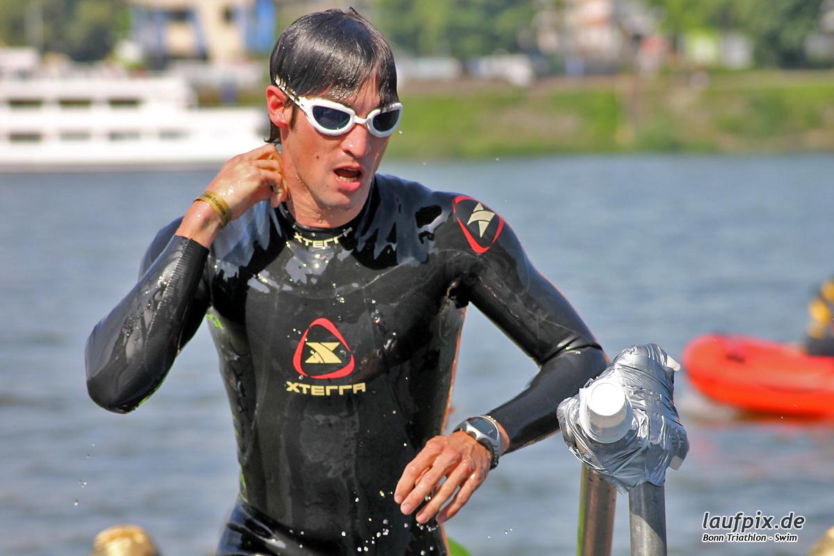 Bonn Triathlon - Swim 2012 - 74