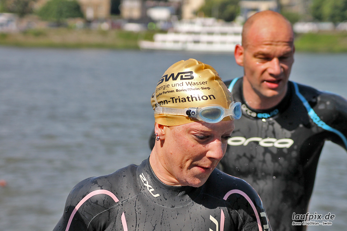Bonn Triathlon - Swim 2012 - 138