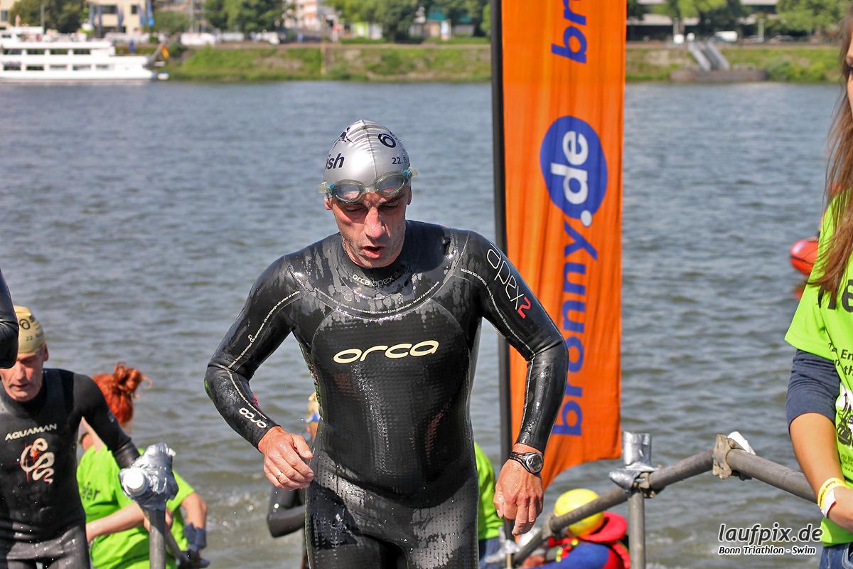 Bonn Triathlon - Swim 2012 - 167