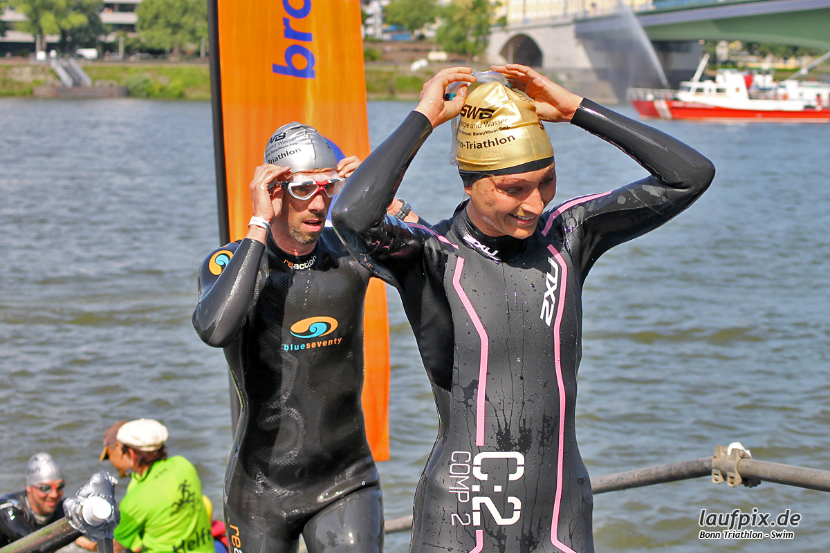 Bonn Triathlon - Swim 2012 - 196