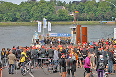 Bonn Triathlon - Swim 2012 - 3