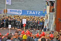 Bonn Triathlon - Swim 2012 - 5