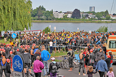 Bonn Triathlon - Swim 2012 - 6