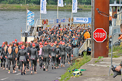 Bonn Triathlon - Swim 2012 - 14
