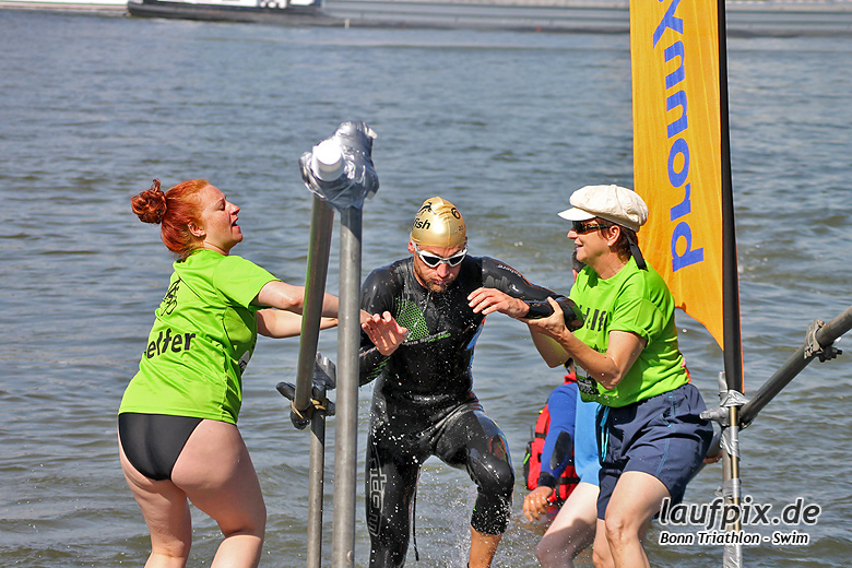 Bonn Triathlon - Swim 2012