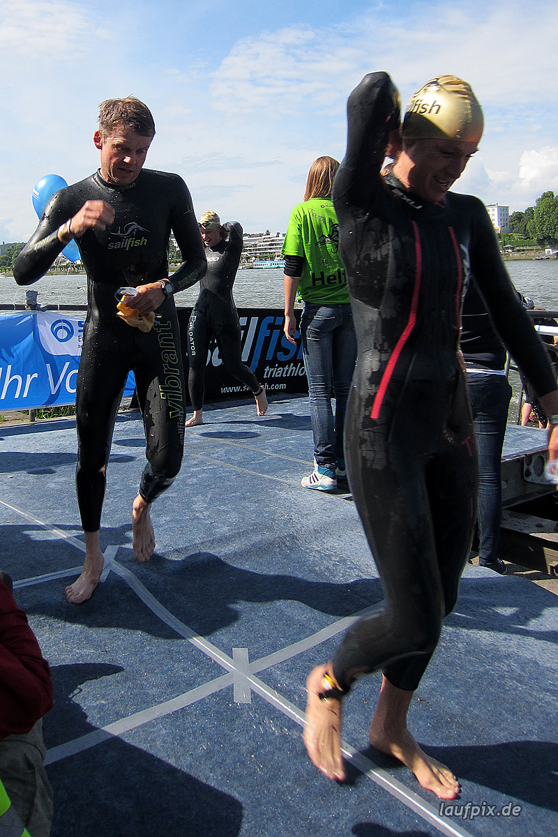 Bonn Triathlon - Swim 2012 - 221