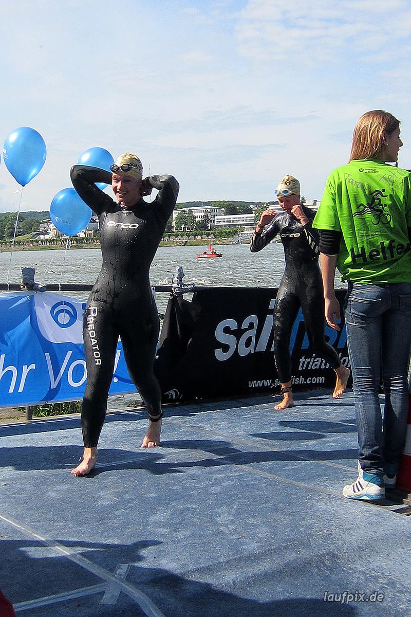 Bonn Triathlon - Swim 2012 - 223