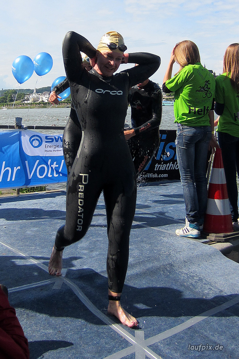 Bonn Triathlon - Swim 2012 - 226