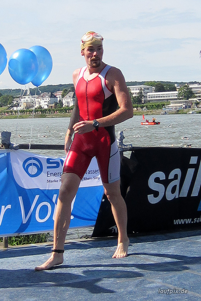 Bonn Triathlon - Swim 2012 - 230