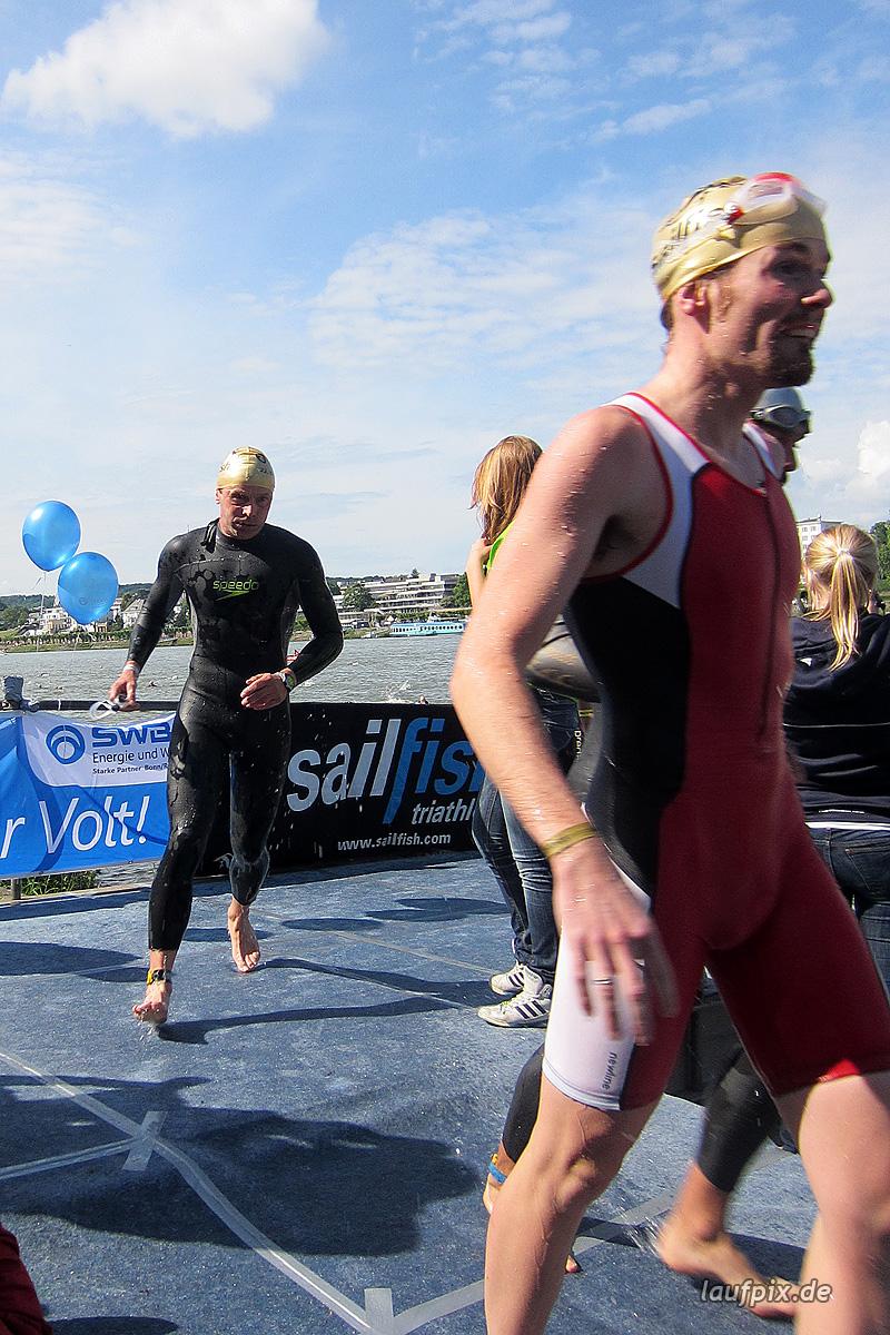 Bonn Triathlon - Swim 2012 - 234
