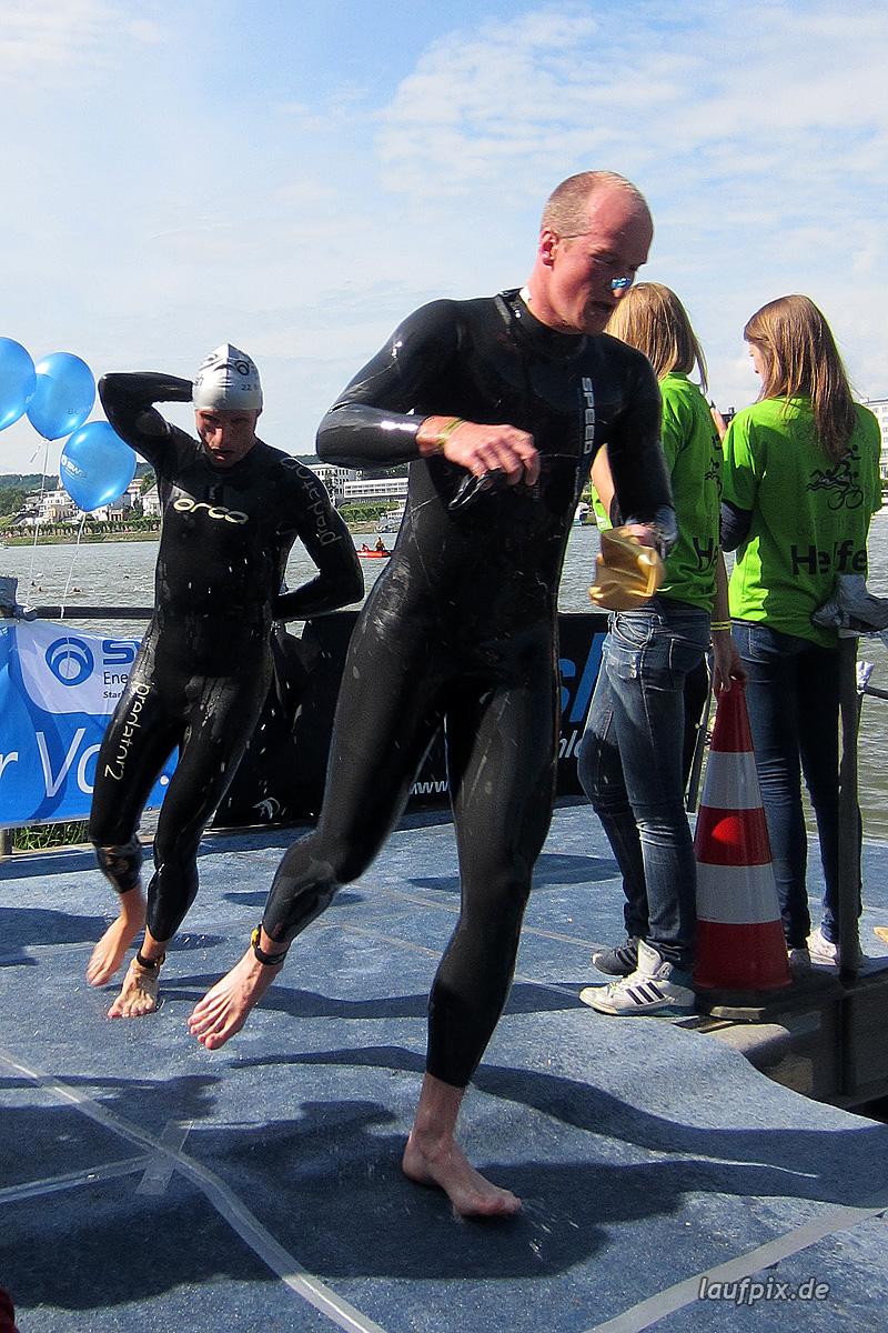 Bonn Triathlon - Swim 2012 - 237